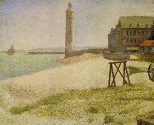 The Lighthouse at Honfleur, NG Wa