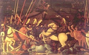 Wikioo.org - The Encyclopedia of Fine Arts - Artist, Painter  Paolo Uccello