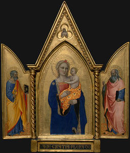 Madonna and Child with Saint Peter and Saint John the Evange