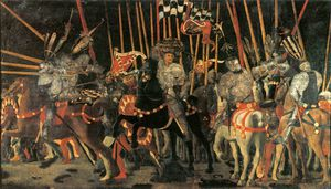 Battle of San Romano - Micheletto da Cotignola