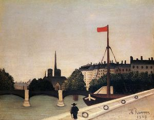 Notre Dame - View of the Ile Saint-Louis