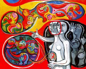 Untitled (155) - Raquel Forner