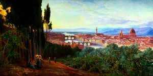 View of Florence from Villa San Firenze