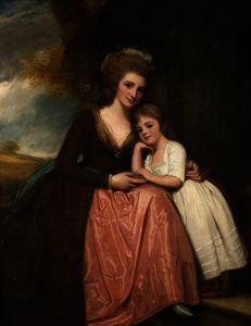 Mrs Bracebridge and Her Daughter Mary