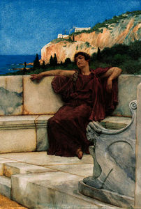 A female figure resting - dolce far niente
