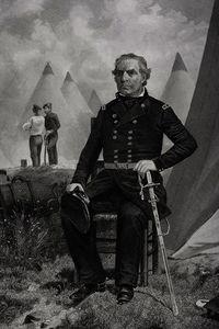 Portrait of Zachary Taylor