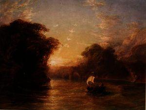 Ubaldo and Carlo in the Enchanted Boat,