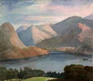 Ullswater from Gowbarrow Park,