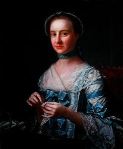 Portrait of Miss Earle