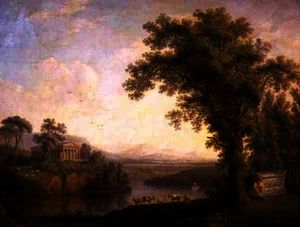 Antique Landscape with Phaeton's Tomb