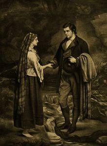 Betrothal of Robert Burns and Highland Mary