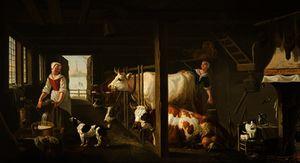 Milking in Winter