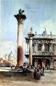 la piazzetta di san marcos , Venecia