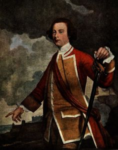 Painting of British general James Wolfe