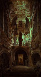 Interior of Soane Museum