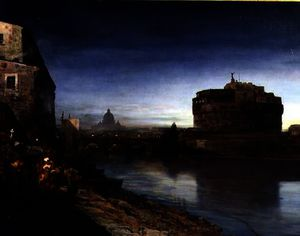 Castel Sant' Angelo at Dusk