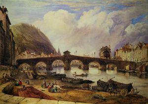 Bridge of Arches, Liege