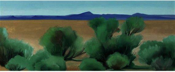 Wikioo.org – La Enciclopedia de las Bellas Artes - Pintura, Obras de arte de Georgia Totto O'keeffe - Taos, Nuevo México