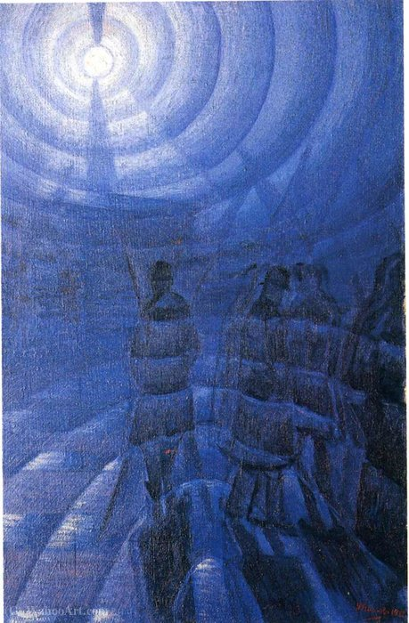 Wikioo.org - The Encyclopedia of Fine Arts - Painting, Artwork by Luigi Russolo - Untitled (507)