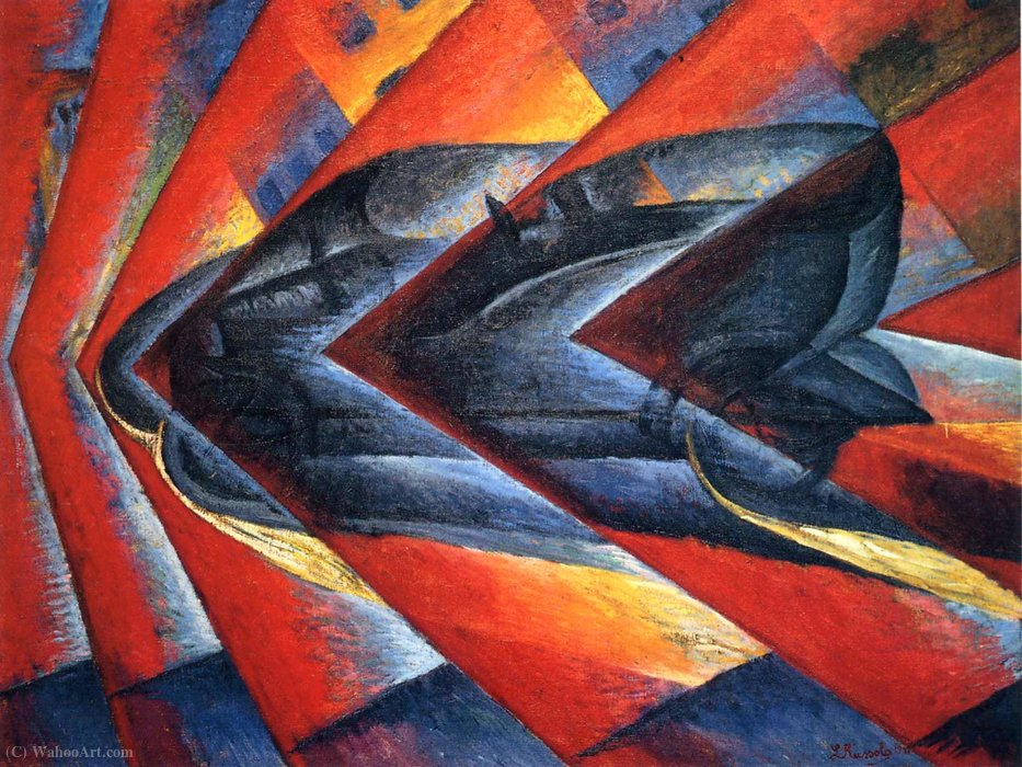 Wikioo.org - The Encyclopedia of Fine Arts - Painting, Artwork by Luigi Russolo - Untitled (637)