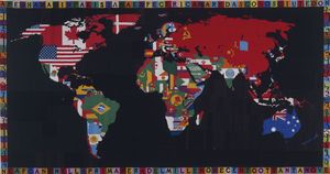 Wikioo.org - The Encyclopedia of Fine Arts - Artist, Painter  Alighiero E Boetti