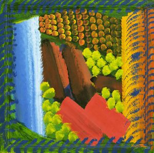 Wikioo.org - The Encyclopedia of Fine Arts - Artist, Painter  Howard Hodgkin