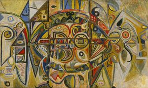 Wikioo.org - The Encyclopedia of Fine Arts - Artist, Painter  Richard Pousette-Dart