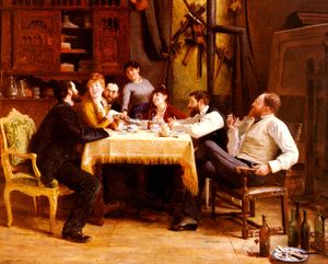 Wikioo.org - The Encyclopedia of Fine Arts - Artist, Painter  Fernand Cormon