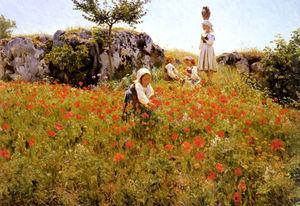 Wikioo.org - The Encyclopedia of Fine Arts - Artist, Painter  Viggo Pedersen