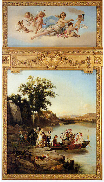 Wikioo.org - The Encyclopedia of Fine Arts - Painting, Artwork by Charles Diodore Rahoult - Allegory of spring