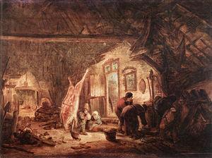 Wikioo.org - The Encyclopedia of Fine Arts - Artist, Painter  Isack Van Ostade