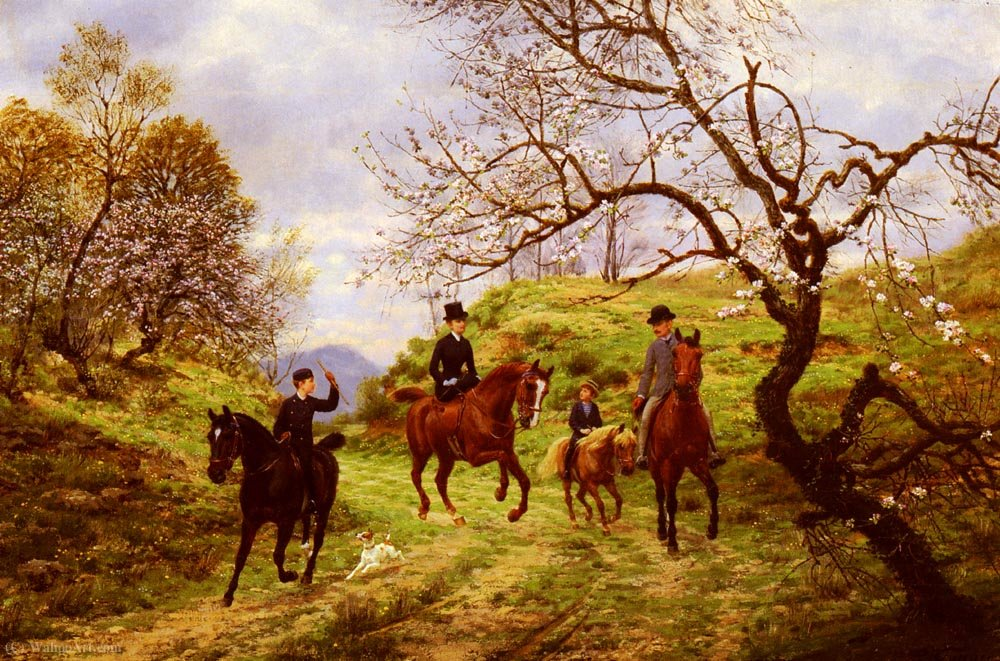 Wikioo.org - The Encyclopedia of Fine Arts - Painting, Artwork by Jean Richard Goubie - Partie de campagne