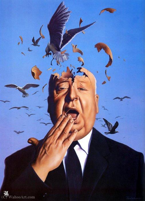 Wikioo.org – L'Enciclopedia delle Belle Arti - Pittura, Opere di Jim Warren - montagne uccelli