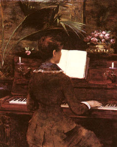 Wikioo.org - The Encyclopedia of Fine Arts - Artist, Painter  Louise Abbema
