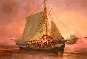 The pirates attack
