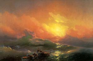 Wikioo.org - The Encyclopedia of Fine Arts - Artist, Painter  Ivan Konstantinovich Aivazovsky