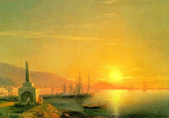 WikiOO.org - Encyclopedia of Fine Arts - Maleri, Artwork Ivan Konstantinovich Aivazovsky - Untitled (225)