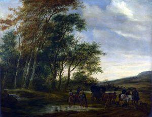 Wikioo.org - The Encyclopedia of Fine Arts - Artist, Painter  Salomon Van Ruisdael