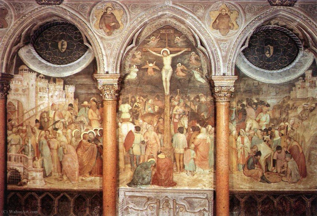 Wikioo.org - The Encyclopedia of Fine Arts - Painting, Artwork by Altichiero Da Zevio - Crucifixion