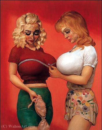 Wikioo.org – L'Enciclopedia delle Belle Arti - Pittura, Opere di John Currin - reggiseno negozio