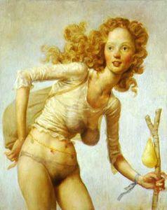 Hobo olio tela (1999) - (40x32)