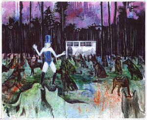 Wikioo.org - The Encyclopedia of Fine Arts - Artist, Painter  Daniel Richter