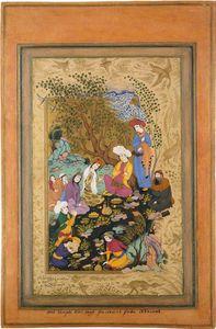 Wikioo.org - The Encyclopedia of Fine Arts - Artist, Painter  Riza-I Abbasi