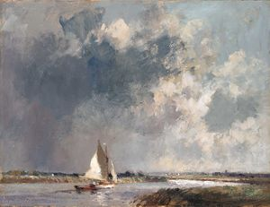 Approaching Storm, near River Thurne, Norfolk
