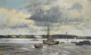 Boats on the Mud, Pin Mill, Suffolk