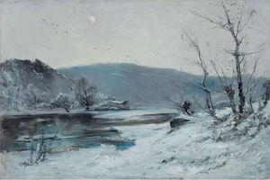 On the Loire, Winter, (1893)
