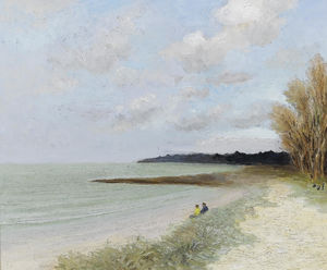 The Beach of Carnac, (1981)