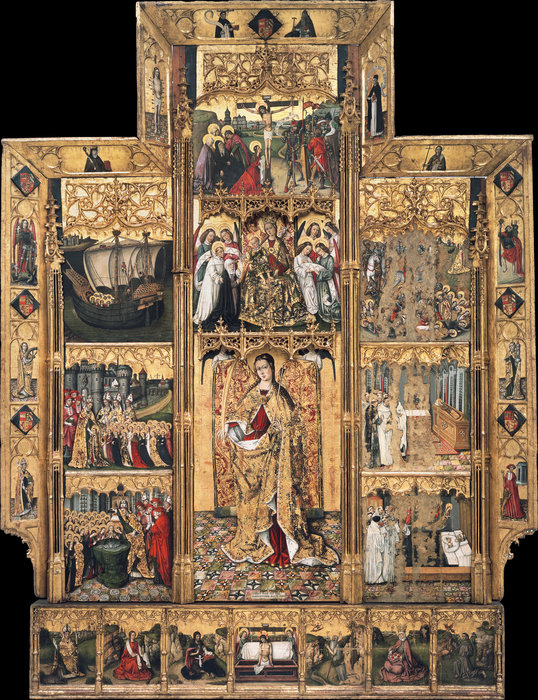 Wikioo.org - The Encyclopedia of Fine Arts - Painting, Artwork by Juan Reixach - (373 x 286 CM) (1468)