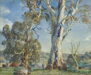 Wikioo.org - The Encyclopedia of Fine Arts - Artist, Painter  Hans Heysen
