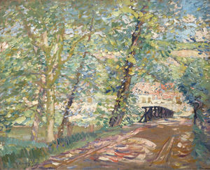 The Bridge to the Artist's House, (1911)